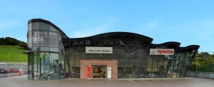 Front elevation view of Macroom Motors located in Macroom, Cork