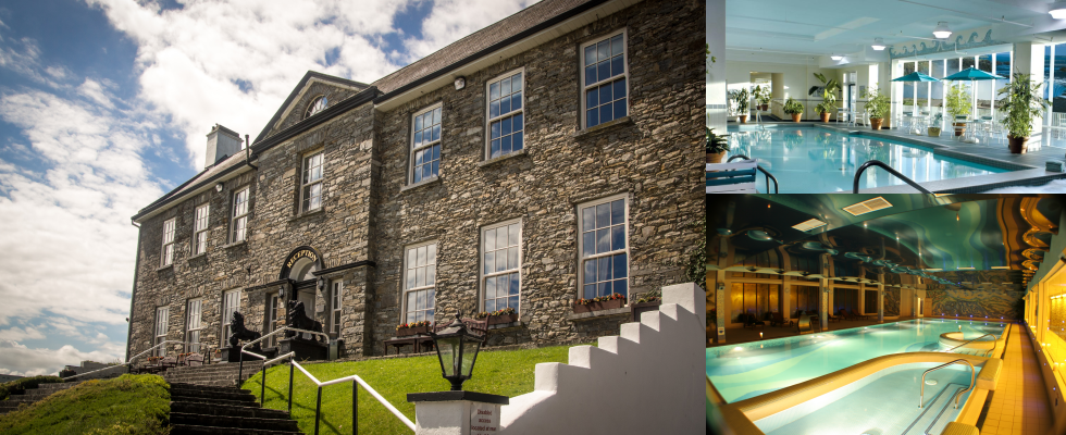 falls hotel ennistymon, swimming pool and spa