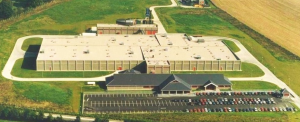 Arial view of Duffy Meats Factory located in Shillelagh, Wicklow